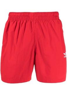 Adidas logo-print swim shorts