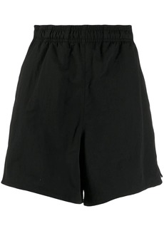 Adidas logo print track shorts