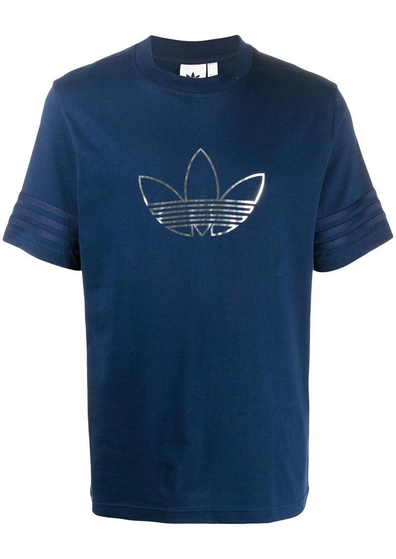 Adidas logo printed crew neck T-shirt