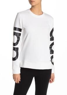 Adidas Logo Sleeve Pullover Sweatshirt