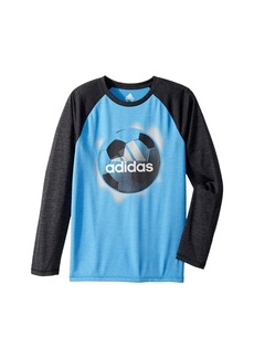 Adidas Logo Sport Ball Tee (Big Kids)