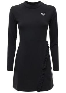 Adidas Logo Stretch Cotton Dress