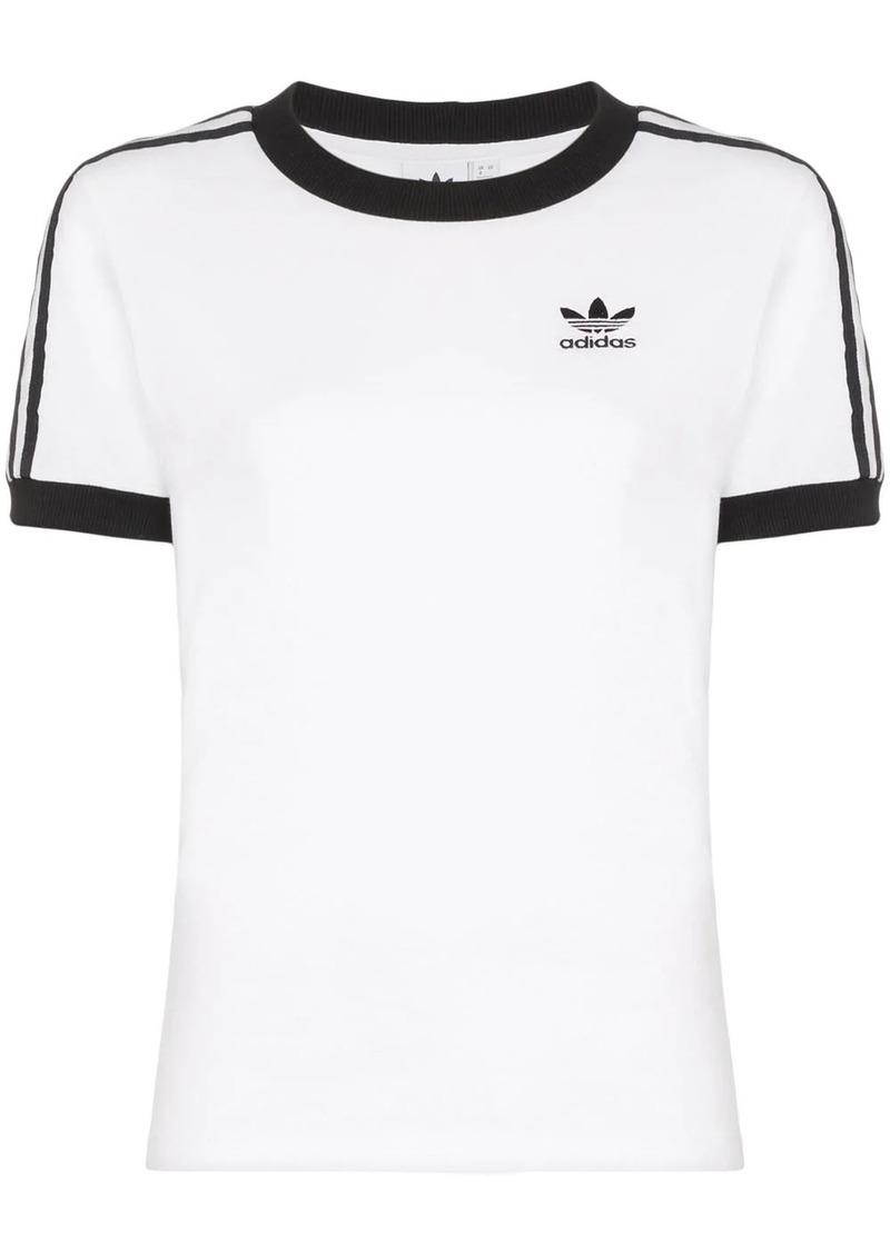 Adidas logo stripe T-shirt