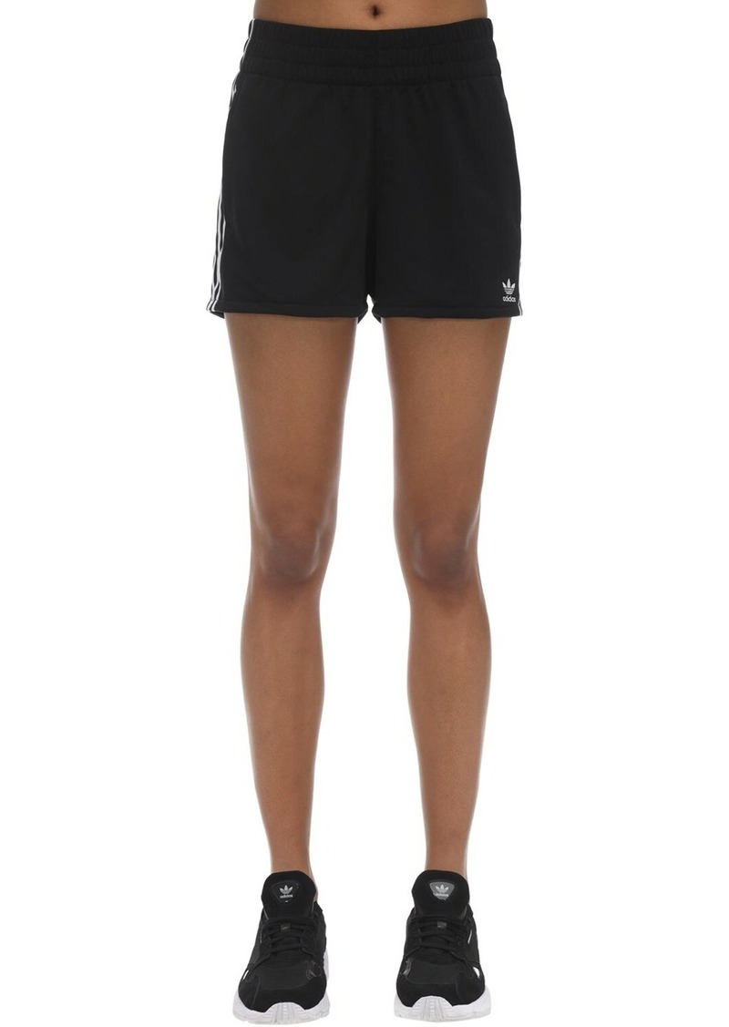 Adidas Logo Striped Shorts