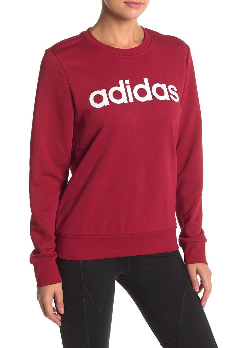 Adidas Essentials Linear Logo Sweatshirt