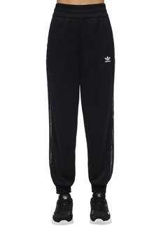 Adidas Logo Track Pant W/ Lace Side Bands