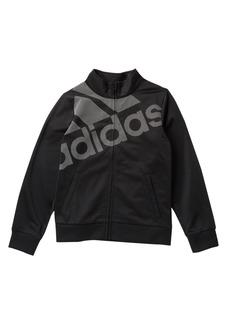 Adidas Logo Tricot Jacket (Big Girls)