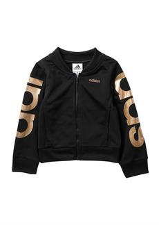 Adidas Logo Tricot Jacket (Toddler, Little Girls, & Big Girls)