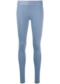 Adidas logo waistband leggings