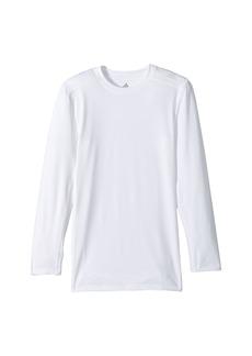 Adidas Long Sleeve Base Layer Top (Big Kids)