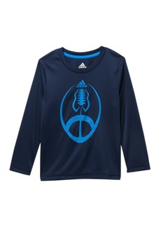 Adidas Long Sleeve Sport Ball Top (Toddler & Little Boys)