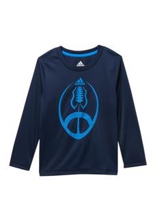 Adidas Long Sleeve Sport Ball Top (Toddler & Little Boys)