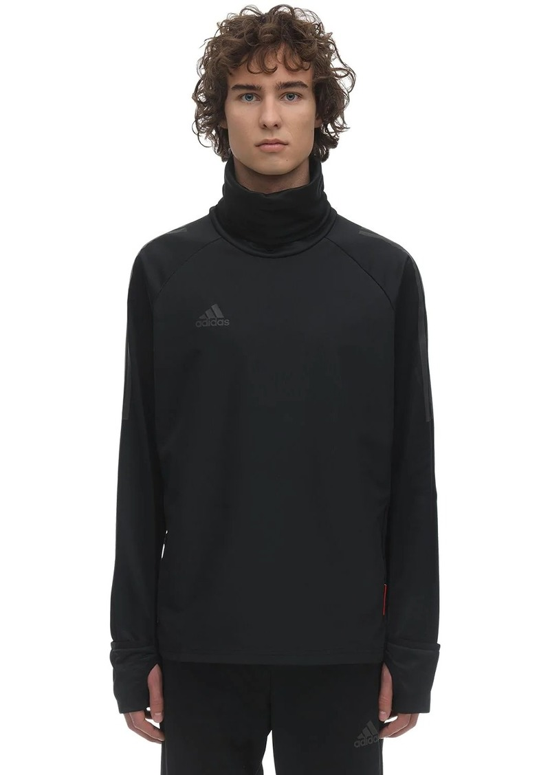 Adidas Long Sleeved Tech Warm-up Top