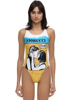Adidas Lvr Sustainable Fiorucci Print Bodysuit