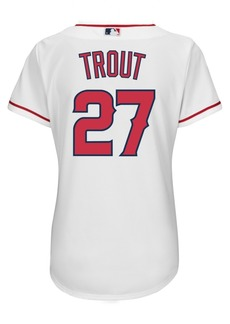 Adidas Majestic Women's Mike Trout Los Angeles Angels of Anaheim Replica Jersey