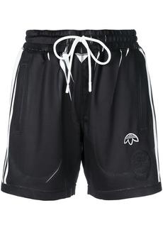 Adidas manufacturing print shorts