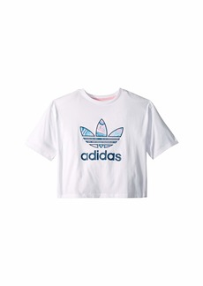 Adidas Marble Crop Tee (Little Kids/Big Kids)