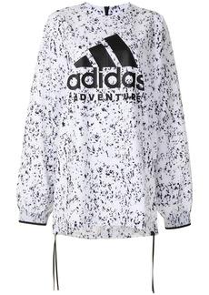Adidas marbled print sweatshirt