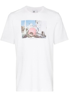 Adidas Martin Parr graphic print cotton T-shirt