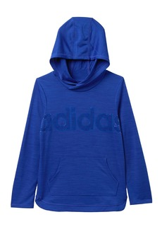 Adidas Melange Hooded Top (Big Girls)