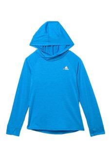 Adidas Melange Hoodie (Toddler, Little Girls, & Big Girls)