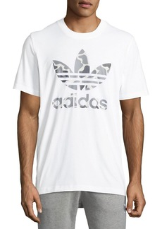 Adidas Men's Camo Trefoil Graphic T-Shirt