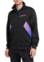 Adidas Men's Colorblock Degrade Zip-Front Track Jacket