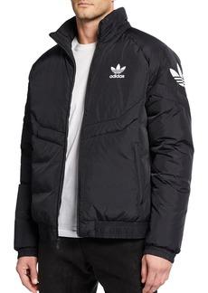 Adidas Men's Down Puffer Jacket