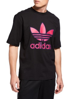 Adidas Men's Large Trefoil Boxy T-Shirt
