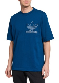 Adidas Men's Outline Graphic T-Shirt