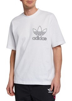 Adidas Men's Outline Logo T-Shirt