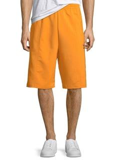 Adidas Men's Pinstriped Pintuck Shorts