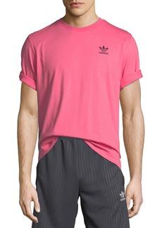 Adidas Men's Ripple Graphic Crewneck Cotton T-Shirt