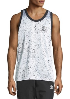 Adidas Men's Speckled Tank Top