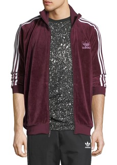 Adidas Men's Velour Track Jacket