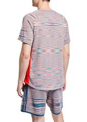 Adidas Men's x Missoni City Runners Unite T-Shirt  Multi