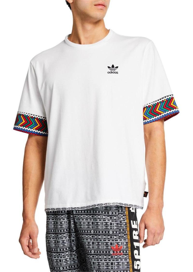 Adidas Men's x Pharrell Williams SOLARHU  Trefoil T-Shirt