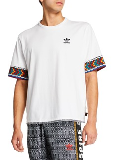 Adidas Men's x Pharrell Williams SOLARHU  Trefoil T-Shirt