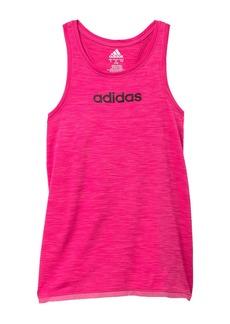 Adidas Mesh Hem Tank (Big Girls)