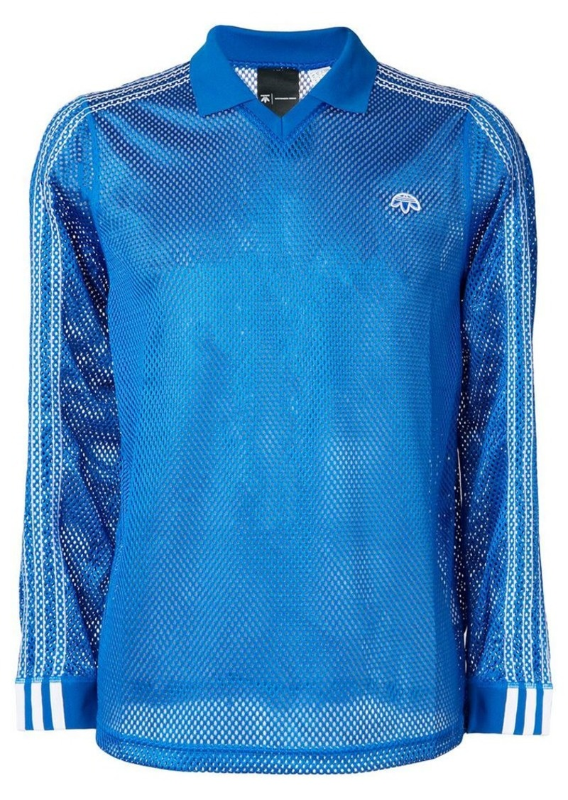 Adidas mesh polo shirt