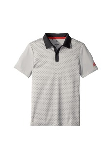 Adidas Micro Dot Print Polo (Big Kids)
