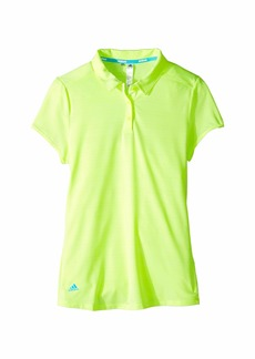 Adidas Microdot Novelty Short Sleeve Polo (Big Kids)