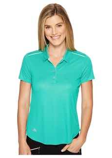 Adidas Microdot Short Sleeve Polo