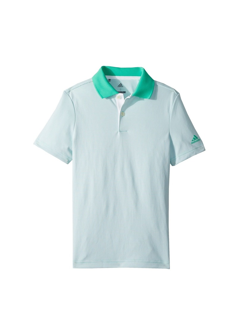 Adidas Microstripe Polo (Big Kids)