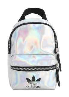 Adidas Mini Metallic Nylon Backpack