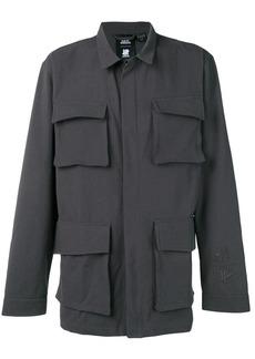 Adidas multi-pocket shirt jacket