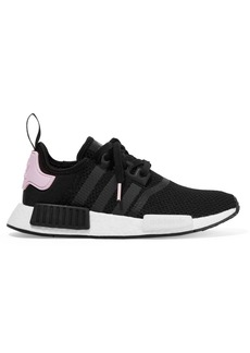 Adidas Nmd_r1 Rubber-trimmed Stretch-knit Sneakers