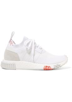 Adidas Nmd_racer Suede-trimmed Primeknit Sneakers