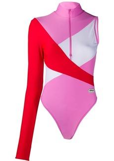 Adidas one-sleeve swimsuit