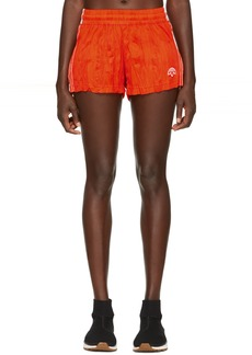 Adidas Orange Track Shorts